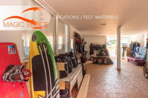location matériel kitesurf sète